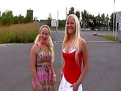 2. junge blonden Deutsch amatures ficken bei Parken