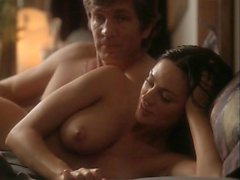 Lucie Laurier riding a guy hard while nude, and then