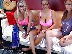 Big Titted MILFS On Cam!! Julia Ann, Vicky Vette & Puma Swede!