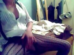 Slutty brunette gal likes to camshare when she's in the mood to masturbate