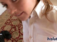 Hot POV session with a delicious teenager