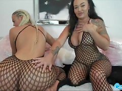 Hot webcam video with Danii Banks and her friend