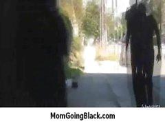 Nasty mom rides huge black monster cock 6