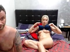European blonde facialized after blowjob in this pov video