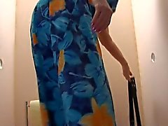 Gammala Form BBW - farmor anser Cock på Toilette 2