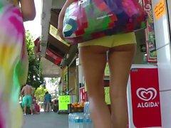Russian Girl Sexy Ass Walking