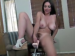 Blackmailed Sister Onto a Fucking Machine DOMINATED MILF