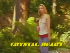 Crystal Heart great handjob, ass licking and squirting