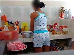 Molesta a la a primera linea de en La cocina