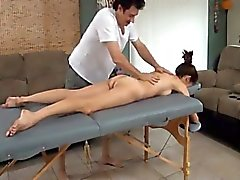 Special Massage For Sexy Skinny Hairy Mother
