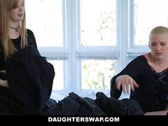 DaughterSwap troie gotica scopata A BFFS padre pt