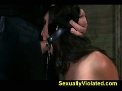 Hot Latina is overloaded with cock 1