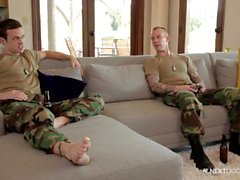NextDoorBuddies Str8 Military Snygg Fucks Gay kompis
