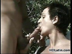 Mature Latina Fucking Outside Near The Pool