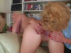 Sammie Sparks and Younger Bitvh both In Sexy Stockings
