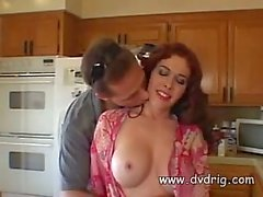 Horny Housewife Mae Victoria Spreads Her Wonderful Thighs For Deep Cock Penetration When Her Husband Is Away At Work Creampie Redhead Boobs