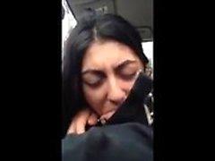 voayercams-Arab girl sucking and swallows