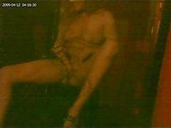 Amateur slut webcam strip & masturbation