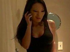 Slutty asian babe asa akira wants to pump some big hard cock