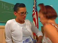 Teachers Pet Strap On Lesson