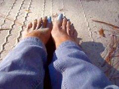 areia-pés