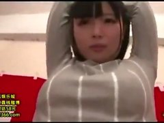 Adolescente japonesa amateur jugueteó y jodida