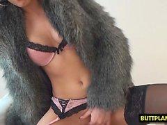 Hot pornstar pov with cumshot
