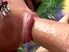 Marcinha and Patrick suck, jerk and pound each other to a