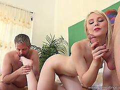 Liljan Rader Loves hennes man Betala Dubbar knulla henne