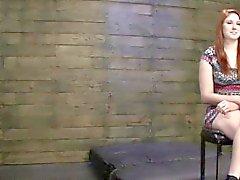 Рыжая Кладовая в подвале кастинг в бондажа хардкора сцены секса