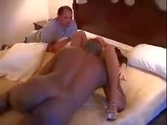HusbandWatches WifeGetting Fcked by BlackDick