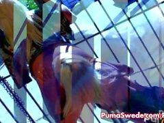 Hot Sex Lesbian Sueco Com Puma & Sadie!
