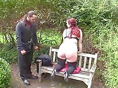 Lady Fatbum spanked