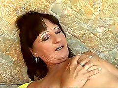 Threesome with Mature Lesbians