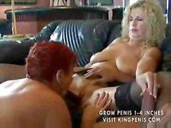 Zwei Grannies Auf Einer Typ After Party INHABER Teil2