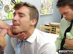 Big Deckare gay Kaffe med Sperma