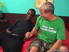 Un tirante sfondo divertente di un solo sesso appeso stallone nero che ha