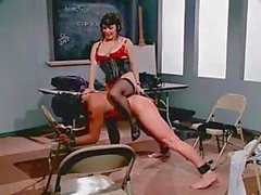 Mature lady gives her submissive buddy a rough femdom lesson