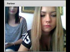 Two amazing Girls watching you