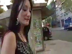 Spanish goth chick