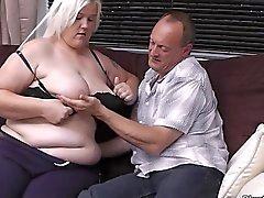 Karı Sarı BBW beraber eşini hile yapıyor