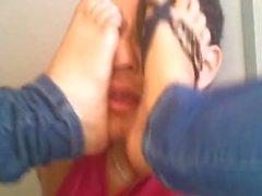 Face Foot massage