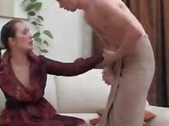 Russian Woman Having Sex