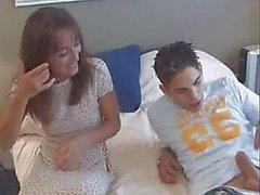 Mogna knulla med ung man