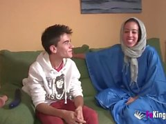 We surprise Jordi by gettin him his first Arab girl!