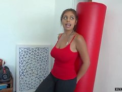 Kinky Family - Ella Knox - Fucking busty younger stepsis