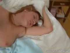 Russian Teen Sister Lets Bro Fuck Her