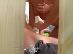 Young students erotica on college party