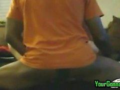 Hot zwischen verschiedenen Rassen Paare Sie anal gaffen in Webcam Zuschauer
