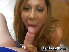 Horny mom plugs young cock in her holes part6